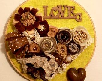 In the Key of Love hoop nest