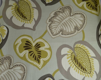 Berger designer - cotton - upholstery fabric - home decor fabric - fabric sample - pillow fabric - handbag fabric - luxury upholstery