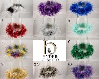 Fluffy Scrunchies / Bracelets - Many colors!