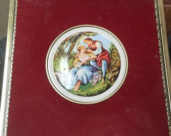 Decorative Candy Tin Made in Western Germany.