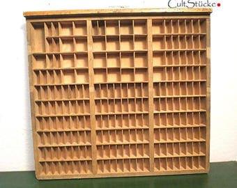 Vintage wash of letterpress wood (8)