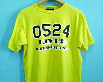 Vintage T-Shirt 0524 LIVE  24 Hour Television