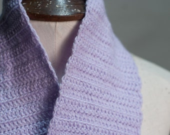 The Lavender - Crocheted Scarf