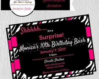 DIGITAL-Surprise Party Invitation