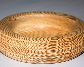 Hand Turned Bowl Douglas fir