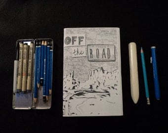 OFF THE ROAD: Complete // comic // zine // minicomic // girls comic