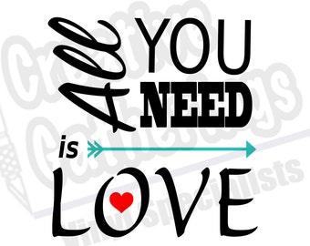 "Shop ""love arrow svg"" in Woodworking Supplies"