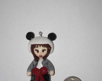 Chibi Clay Panda Girl