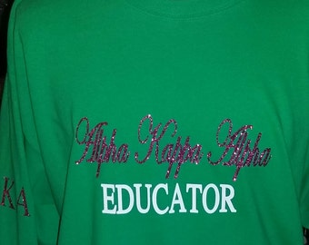 AKA educator shirt
