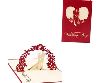 3D Wedding Invitation Cards