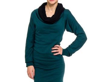 Kolla 4 in 1. long-sleeved. Emerald/black