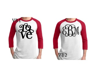 Valentines Day Baseball Tees