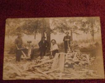 Pre 1911 real photo postcard
