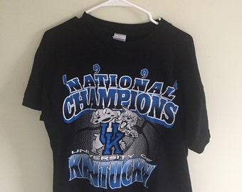 1996 University Of Kentucky National Champions T-Shirt