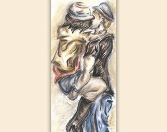 Mark and Maria- Chalk Pastel Drawing