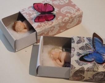 Sleeping Fairies in a Matchbox