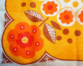Vintage Pure Linen Hand and Kitchen Tea Towel