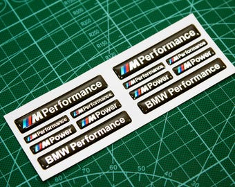 BMW 3d Domed Stickers decal emblems