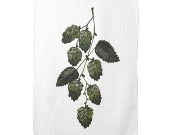 Hops Kitchen Towel