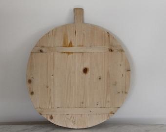 Antique German Wooden Cutting Board. Antique Tart Board, European Bread or Cheese Board, Farmhouse Decor Large