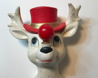 Vintage 1950's Rudolph wall light made in Japan with original bulb!!