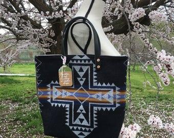 Pendleton wool handbag