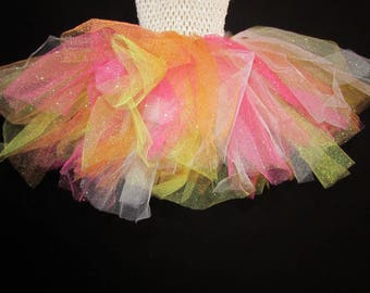 Crop Top Baby Crochet Tutu Dress