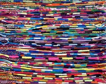 NEW! Handmade! Lot of WRAP style friendship bracelets Wholesale