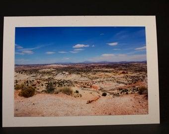 Utah Desert Photo Greeting Card
