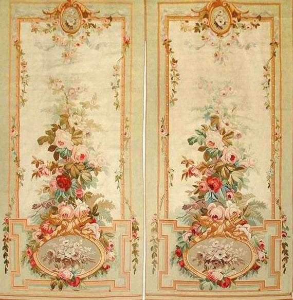 1:12 Regina Collection Door Or Wall Panels In Woven Wallpaper