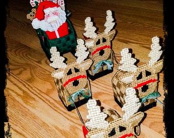 Santa's Sleigh Table Top Decoration