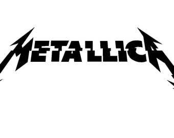 Metallica Hardwired New Album Logo Vinyl Decal Car Window Laptop Guitar Sticker
