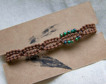 Traditional Chinese Woven Bracelet with