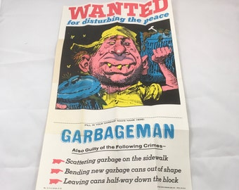 TOPPS Wanted Wacky Posters 10 TOTAL posters in all 1980