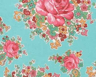 Sugar Bloom - Sugar Bouquet by Verna Mosquera/ Free Spirit Fabrics - Sold by the Yard