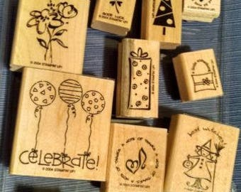 Tag Time- Stampin Up Stamp Set Retrired
