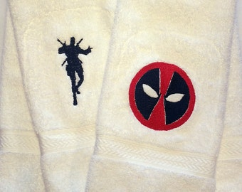Deadpool Hand Towel Set