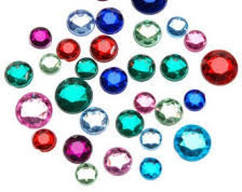 Additional charge for colored rhinestones