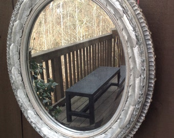 Antiqued Silverleaf Accent Mirror