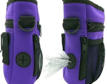 Treat Pouch Dog Training Bag Multi-Purpose (New Ver. 2.0 - Purple)