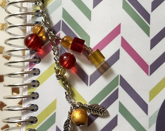 Golden Snitch Planner Charm, handbag/purse charm, zipper pull charm