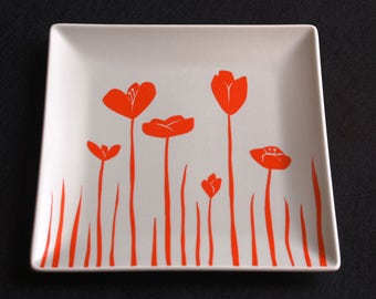 Play Butterfly plate