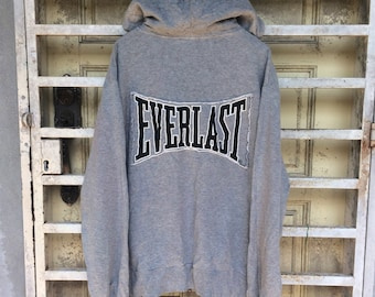 On Sale Vintage Everleast Hoodies Big Logo Size Large