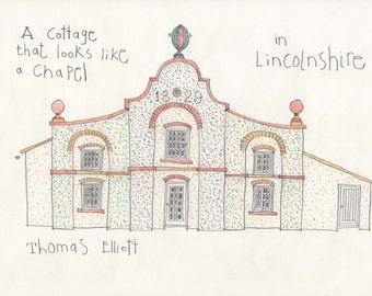 A Cottage that looks like a Chapel - Lincolnshire