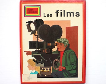 1972 Les Films Vintage Children's Picture Book in French