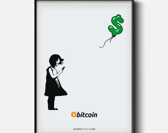 Girl With Bitcoin