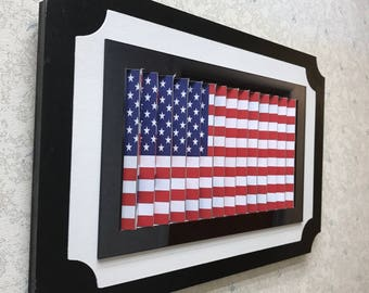 Two Flags/USA Flag/Two Countries/American Flag/Citizenship/Country Flag/Transition Photo