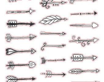 Arrows // Stickers // Erin Condren // Personal Filofax // Planner