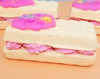 Orange Dream Bath Ice Cream Sandwich