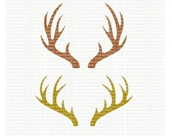 Antlers SVG, cutting file, vinyl file, svg, antlers, svg file cameo file, cricut, woodland, deer, antlers svg, antlers download, download